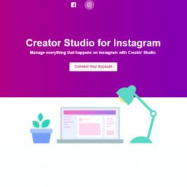 Nouveau tableau de bord Instagram sur Facebook Creator Studio