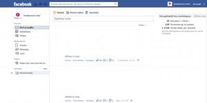 Création de la liste d'intérêt Facebook étape 1