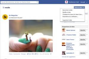 Création de la liste d'intérêt Facebook étape 9