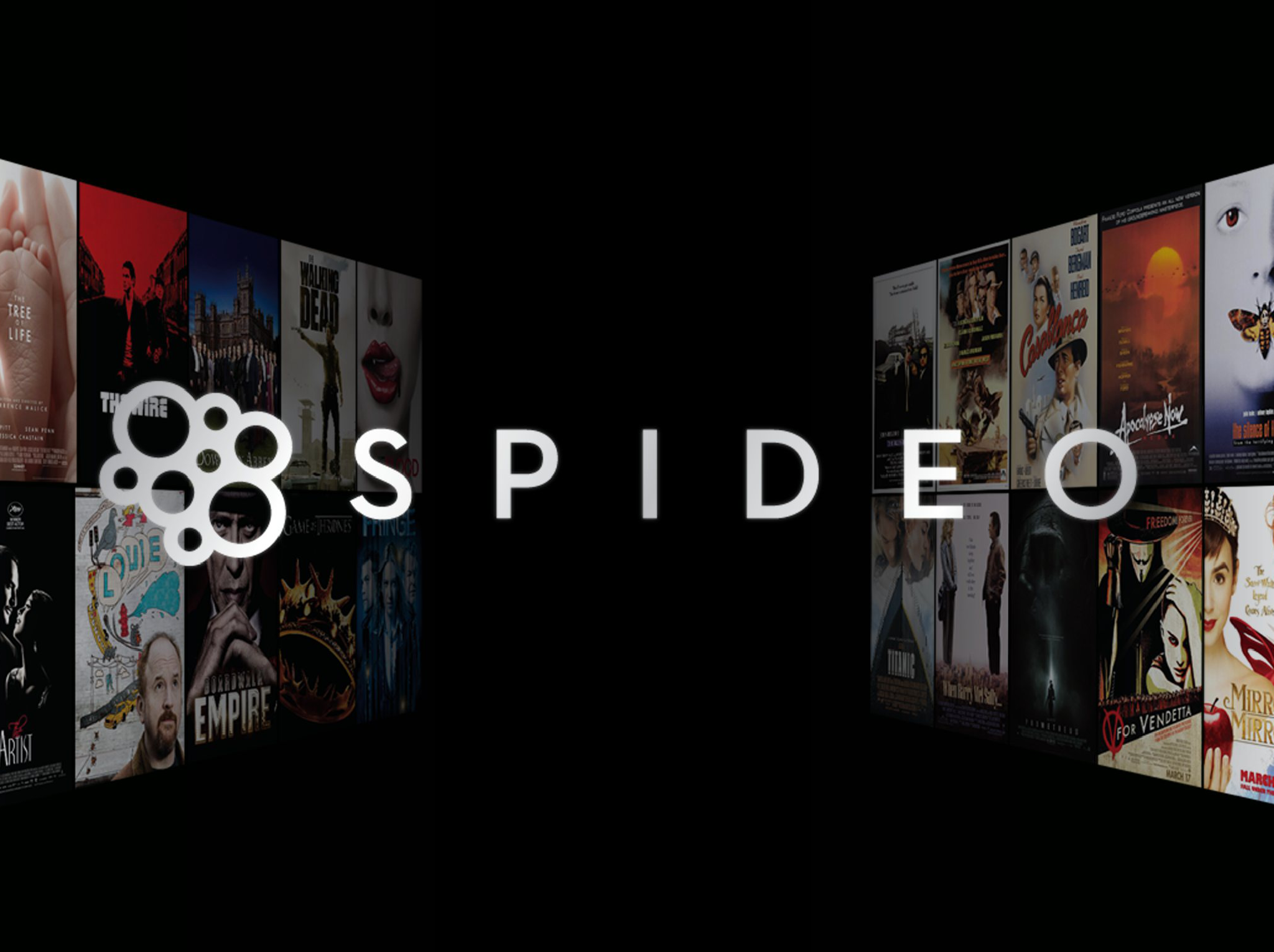 Spideo, l'application intuitive dédiée au cinéma et aux séries.