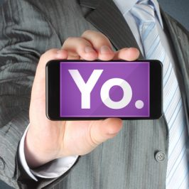 Yo ! – Application mobile – La communication purement contextuelle