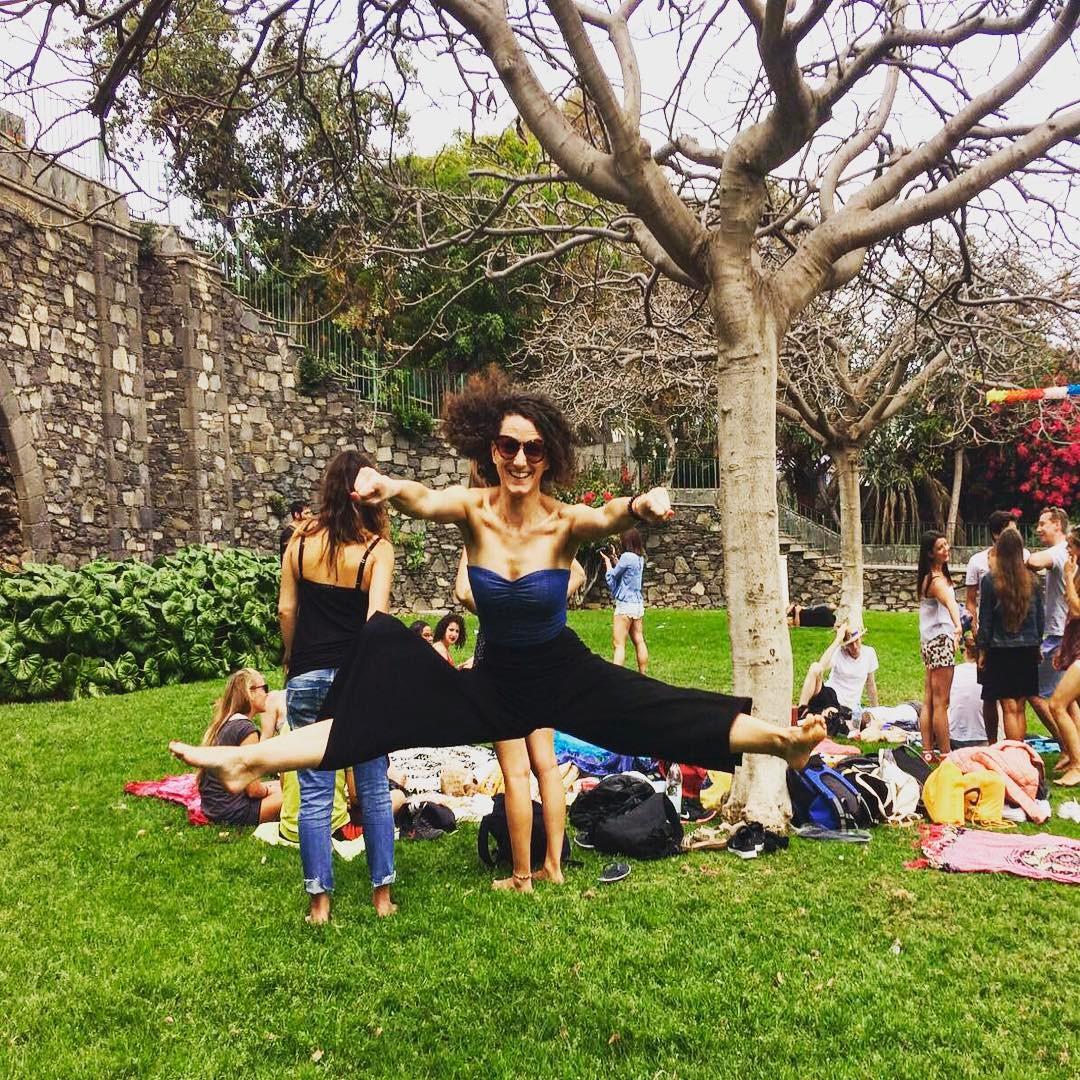 Jump ! picnic park dance canaries canarieislands erasmus
