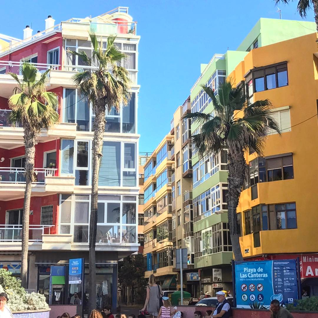lascanteras in laspalmas ! colorful travel Travelgram instatravel traveling travellinghellip