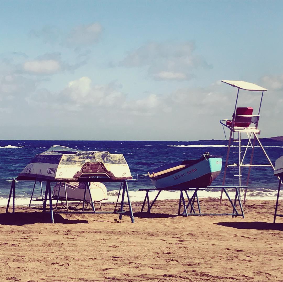 beach atlanticocean laspalmas lascanteras lascanterasbeach relax instapic instadaily travels travelbloggerhellip