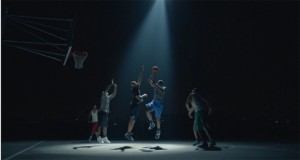 Basketball never stops un message fort signé Nike.