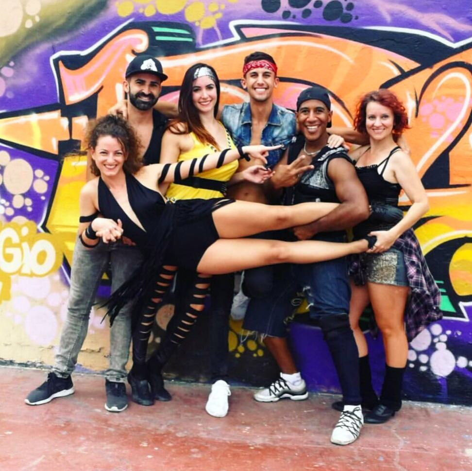 Today we shot the first video clip of street dancehellip