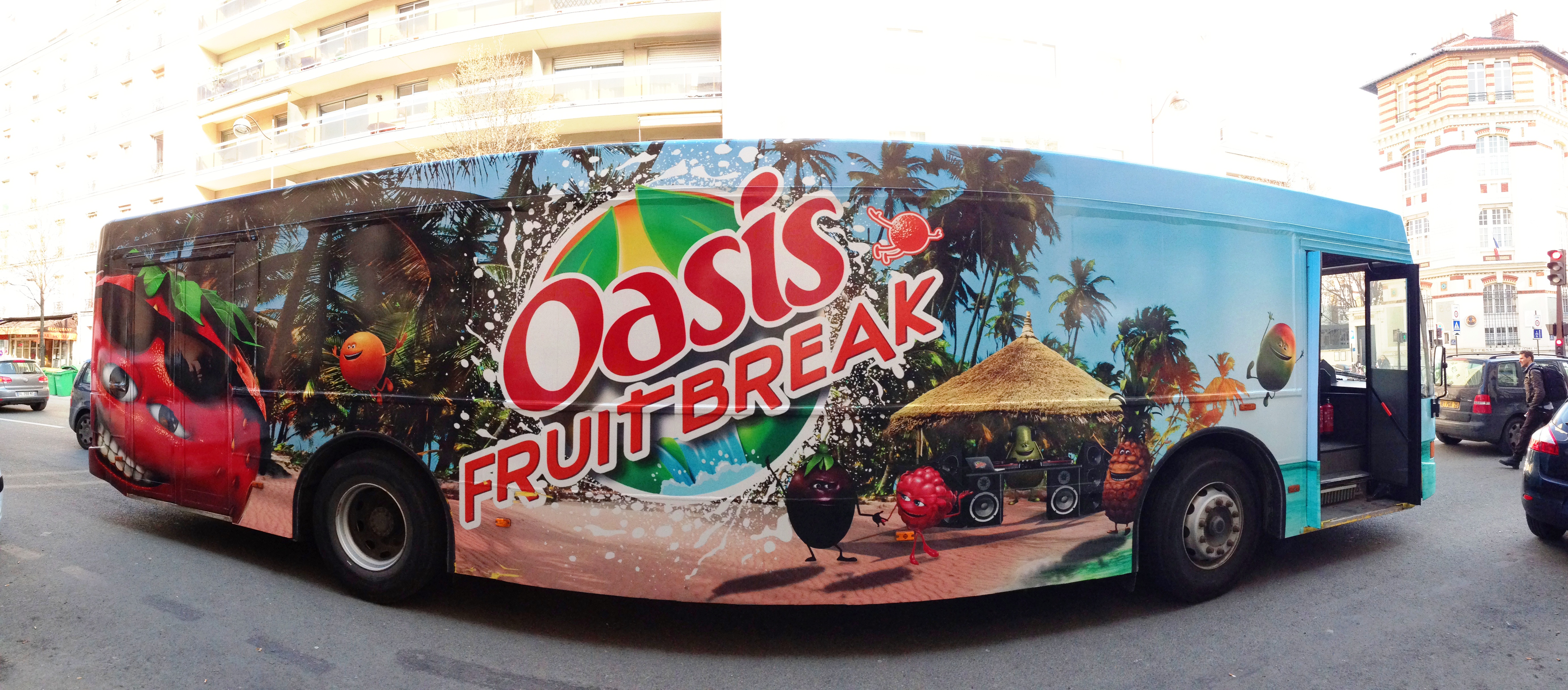 OASIS FRUIT BREAK : Un cocktail à ne pas manguer !