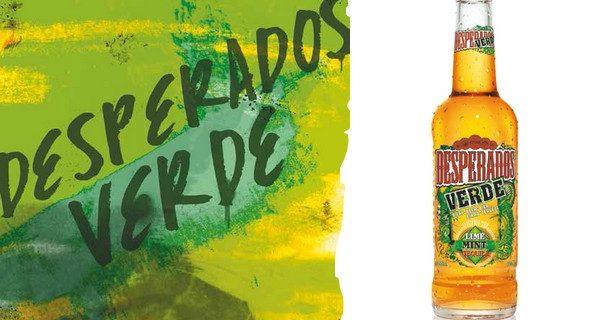 Desperados innove avec : Desperados verde !