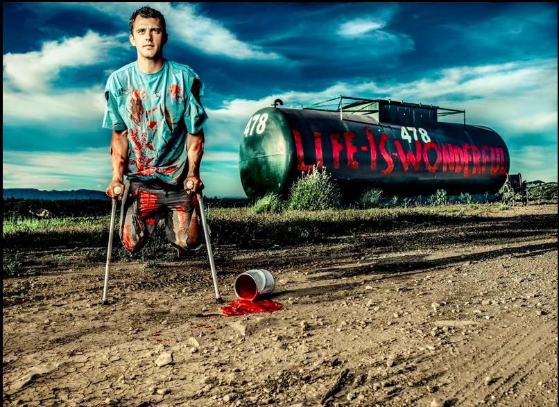 Life is wonderful : Un projet photo autour de la résilience par Philippe Echaroux