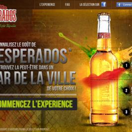 Créez votre propre bière avec Desperados !