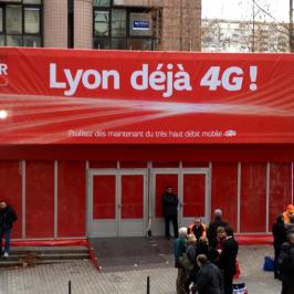 Lyon 1ère ville SFR 4G Ready