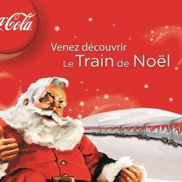 Un peu de Coca, beaucoup de Père Noël et un voyage en train pour le Pôle Nord!