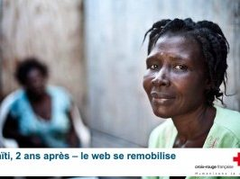 Haïti, 2 ans après : la Croix-Rouge mobilise la communauté web