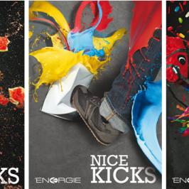 Joli coup de pied graphique pour une campagne haute en couleurs !