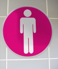 Désolé, les toilettes sont occupées … par les marques !