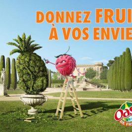 Are you fruiiiit avec Oasis ?