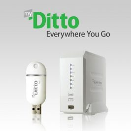 Myditto, un serveur à distance simple, sécurisé, et innovant.