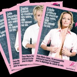 Marie-Claire: campagne pour le dépistage du cancer du sein