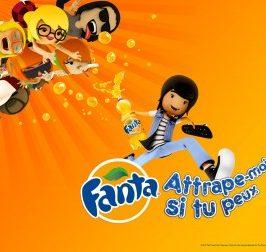 Attrape-moi si tu peux avec Fanta Players