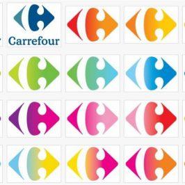 Carrefour lance son nouveau logo