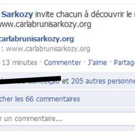 Site de Carla Bruni-Sarkosy