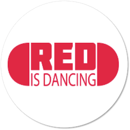 Red is dancing